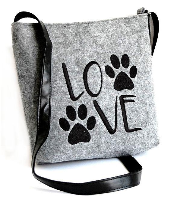 Kabelka Crossbody Love Dogs okouzlí svým nápaditým zpracováním. cafa3666dc8