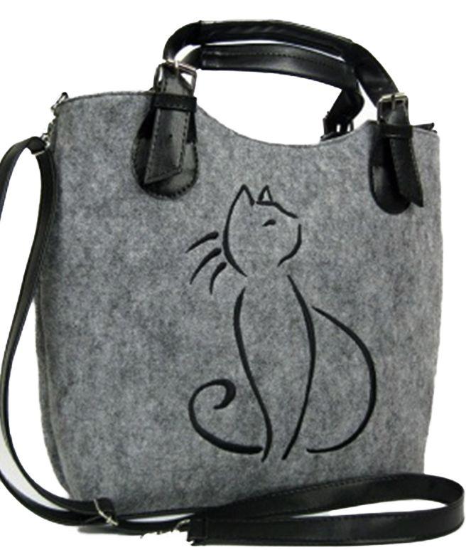 Vysněná kabelka Excent Kočka Lady s pěkným motivem doladí outfit 2f63aa5a289